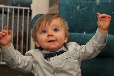 Noah and bubbles