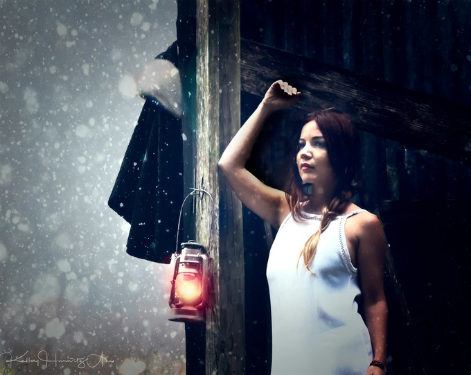 snow drift  by kelleyhurwitzahr - People With Bokeh Photo Contest