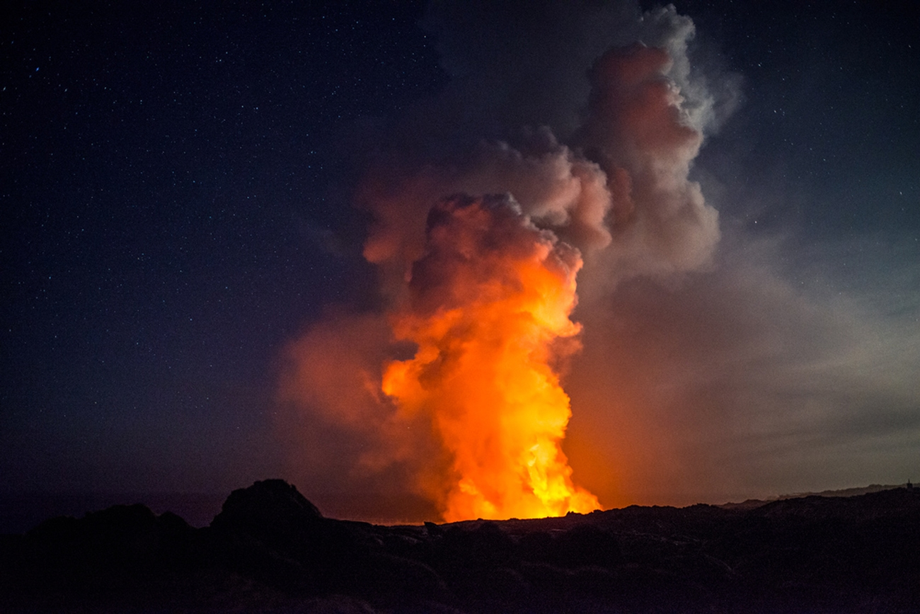 Jack Fusco: The Lava Flow Expedition