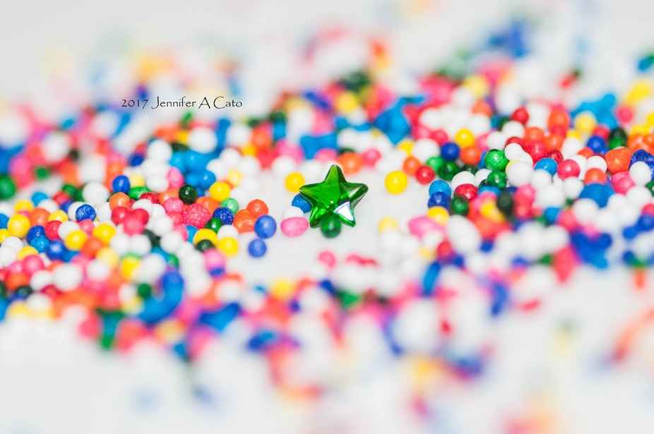 What do you do when boredom sets in? You bring out your Macro lens!  Nikon D90 + Sprinkles + Char...