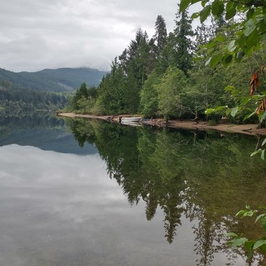 Peace & Serenity early morning at Horne Lake July 16, 2016