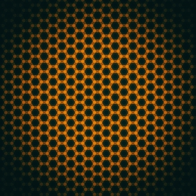 Abstract honeycombs background
