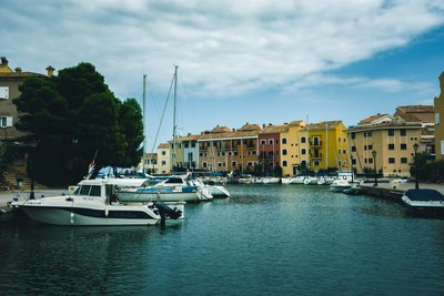 Colorful Port City