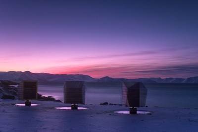 Lean-to Shelters - Arctic Circle, Norway