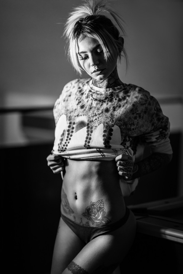 Fishball Suicide by lucafoscili - Her In The Studio Photo Contest