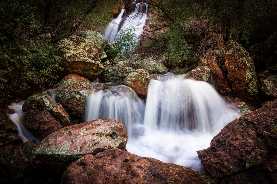 I took a drive down the US 60 through Superior, AZ yesterday to check out the many waterfalls tha...