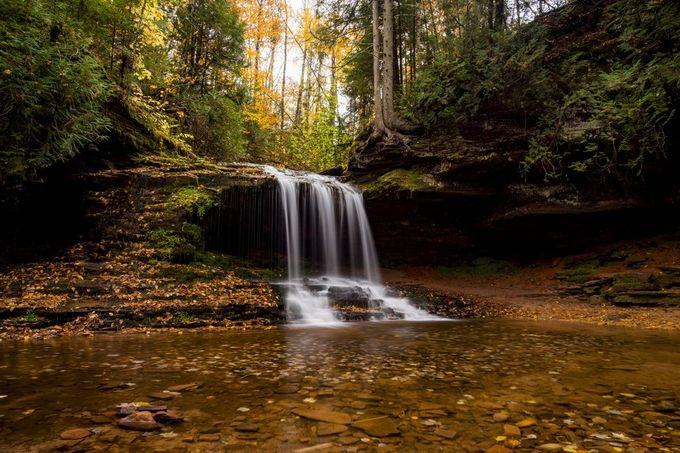 lost creek falls by JStokkaDesign - Beautiful Waterfalls Photo Contest