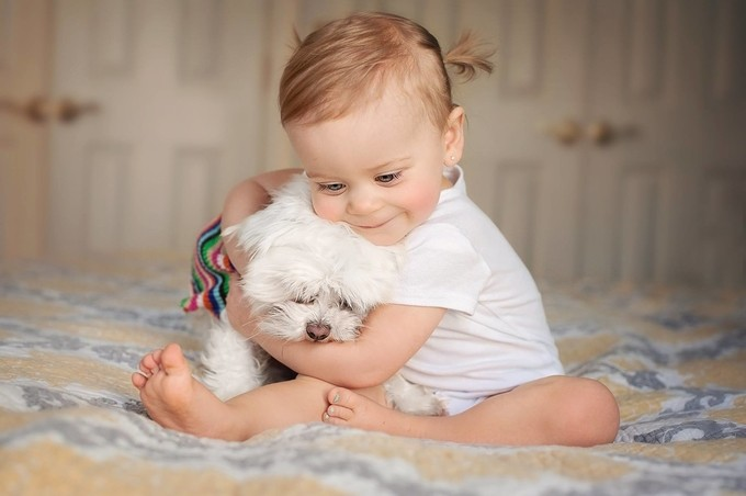 best friends by Andreamartinphoto - Babies Are Cute Photo Contest