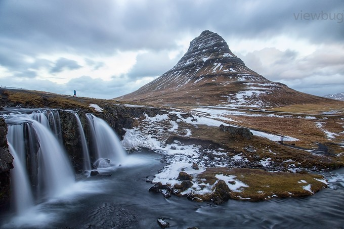 Nakul_Sharma_Kirkjufell waterfall by nakul - One With Nature Photo Contest
