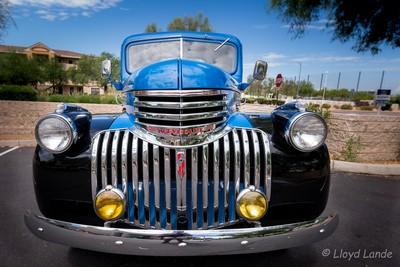 Vintage 46 chevy Pickup