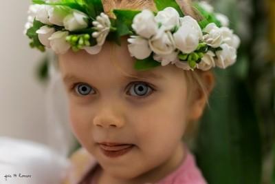 Little russian girl