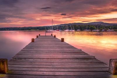 Sunset at Ambleside