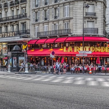 "Cafe La Rotonde, Montparnasse, Paris -The ""France"" Collection"