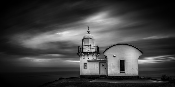 Tacking Point Light House by Michael_Lucchese - Black And White Architecture Photo Contest