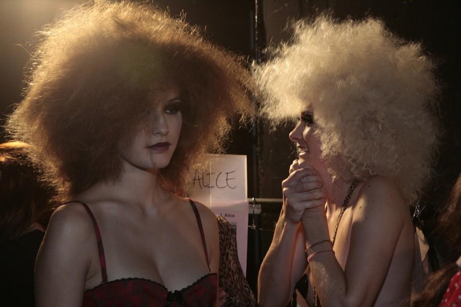 Shooting for celebrity hairdresser James Brown