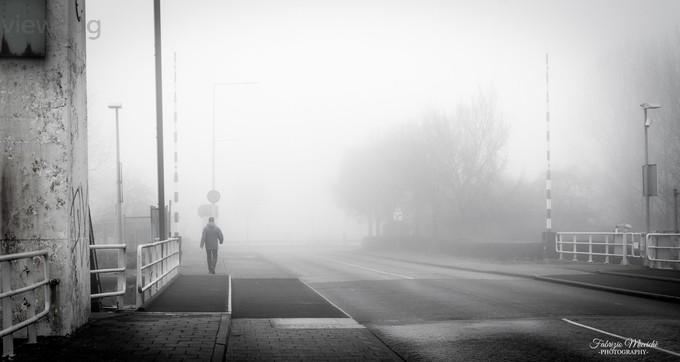 Walking alone by FabrizioMicciche - A Walk In The Mist Photo Contest