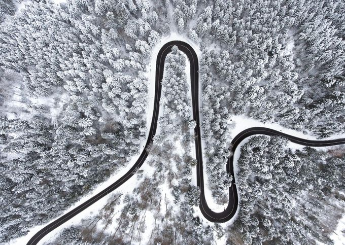 37+ Fun Shots Of Winter Roads