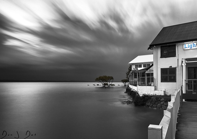 long exposure by domjdel - The Moving Clouds Photo Contest