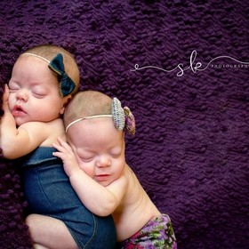 This was my very first and only twin session to date. When we got this pose I thought I might pee myself wth excitement