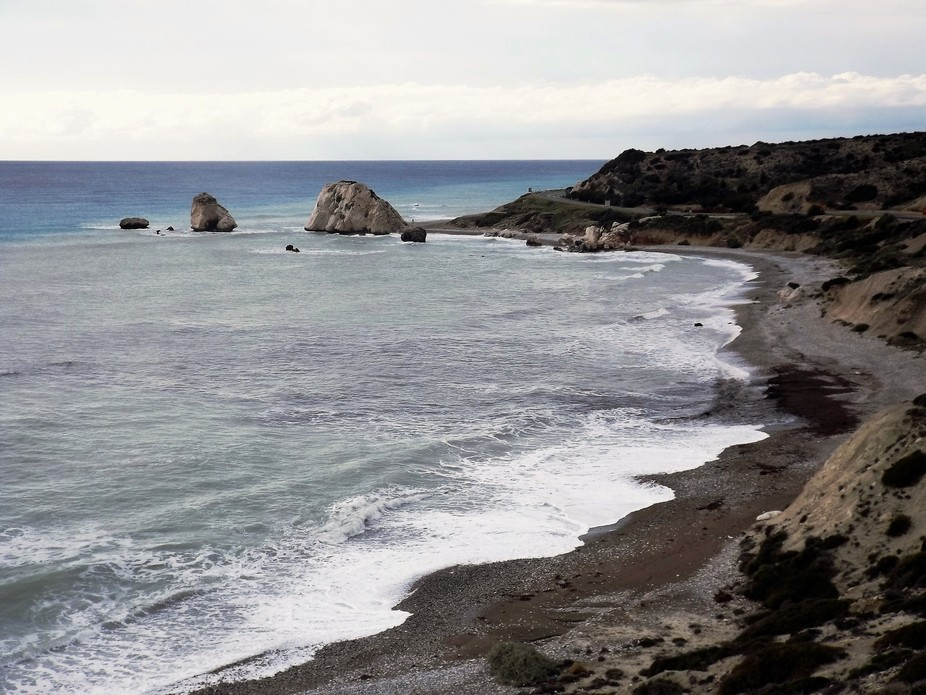 Petra Tou Romiu - iconic place of Cyprus