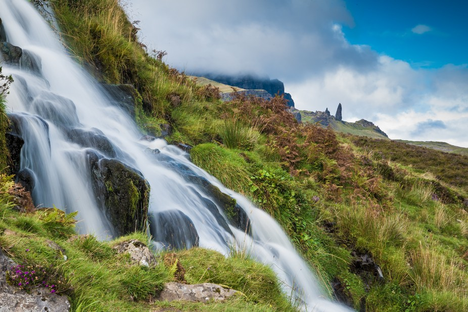 An iconic Skye landmark, the Old Man of Storr looks small but when you walk up the 1400ft rise to...