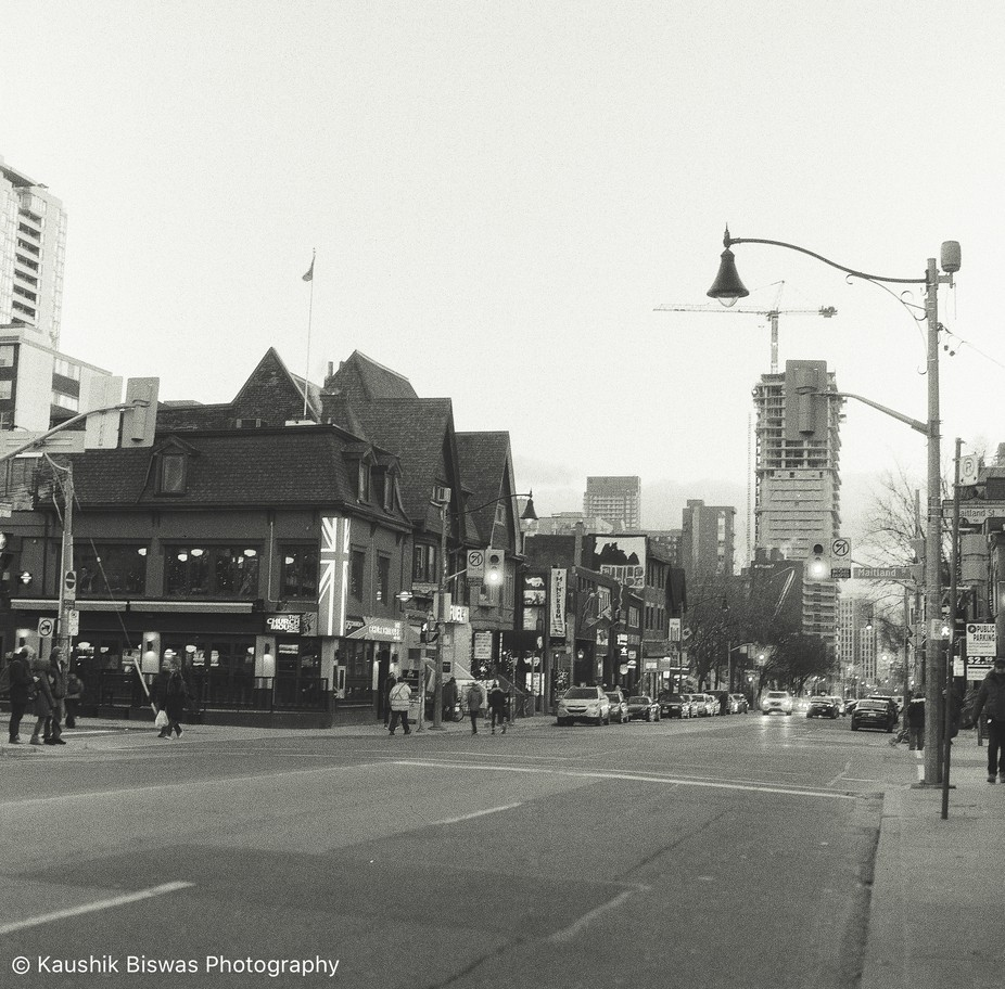 One of favourite places to go and take pics is Church st. The day this pic was taken, I was a wal...