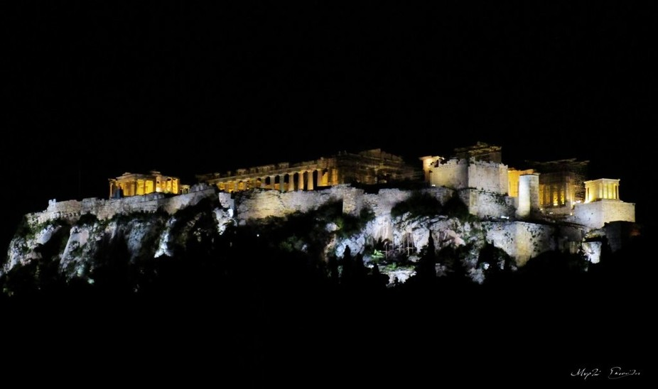 Acropolis, Athens, Greece.  Showing some love for my hometown.