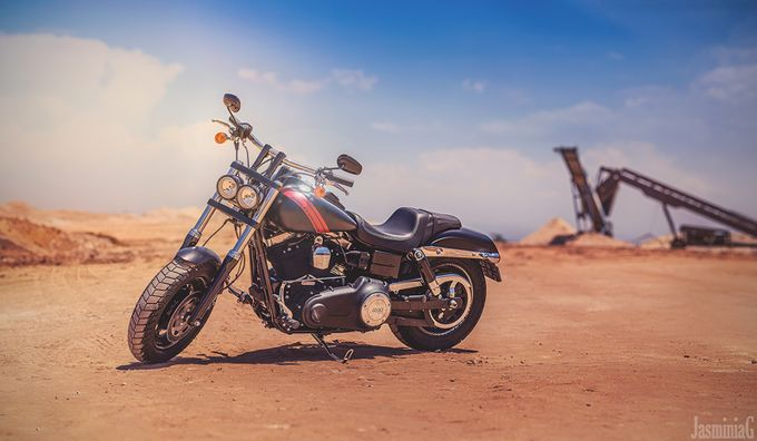 Harley Davidson by JasminiaG - Motorcycles Photo Contest