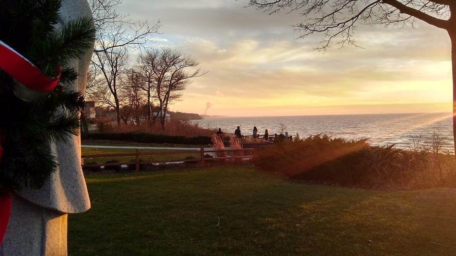 New Year Day On Lake Michigan