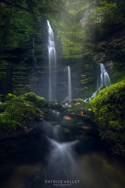 Flumen waterfall