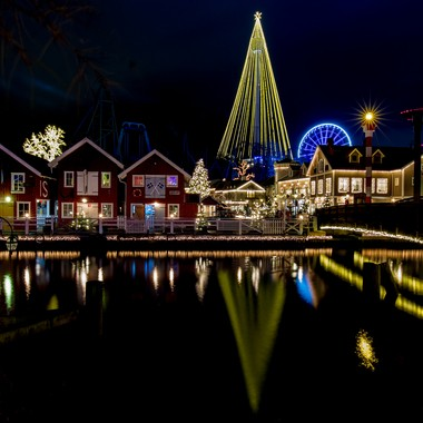 Night at Liseberg