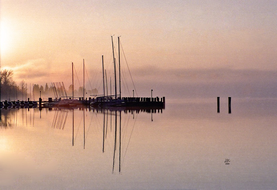 This is the docks at St Mary's College in Southern Maryland that I went to. I caught thi...
