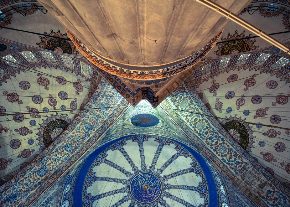 Mesmerizing and intricate patterns of Iznik tiles define the centuries-old mosque, known as the S...