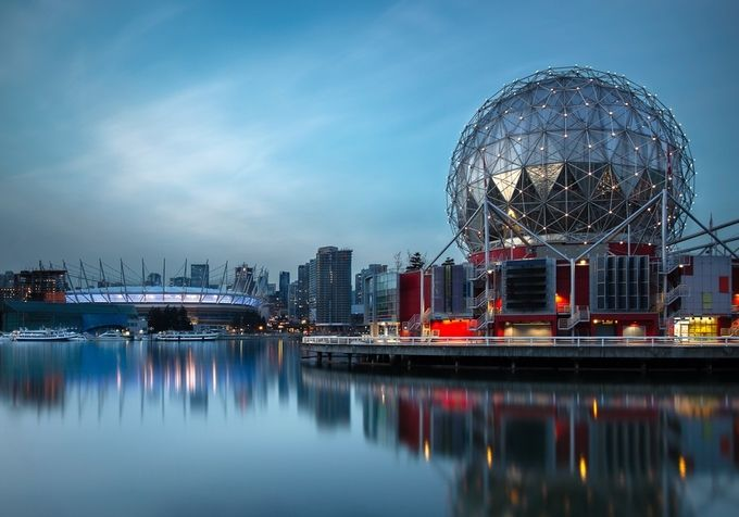 Science World by Yannick - Cities By The Water Photo Contest