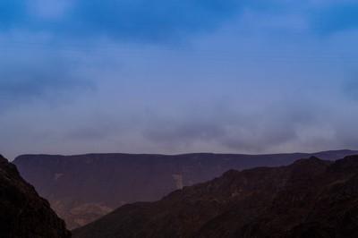 Mountain Range near Hoover Dam