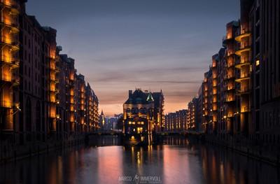 Wasserschloss, Speicherstadt Hamburg