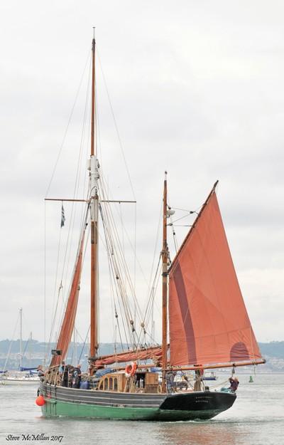 Provident, setting sail