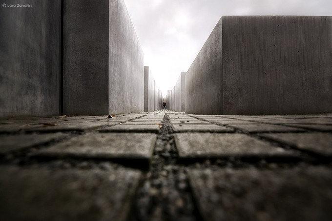 memoriale olocausto by larazanarini - Diagonals And Composition Photo Contest