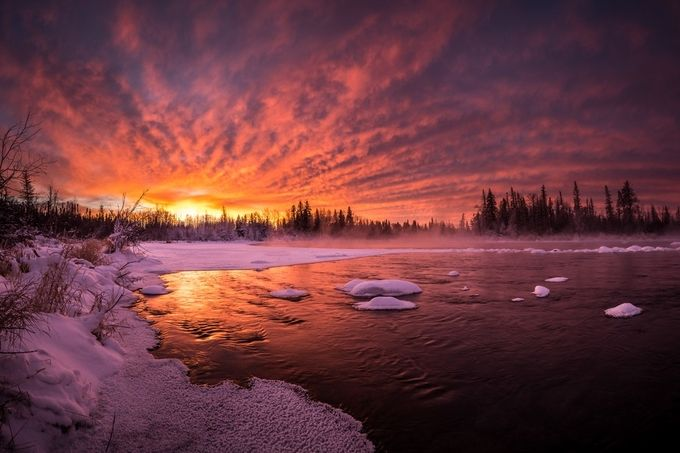 Fire & Water by coreyhardcastle - The First Light Photo Contest
