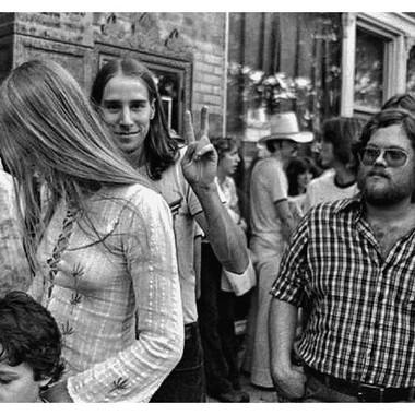 Rolling Stones 1978 Atlanta Fox Theatre - street scene 1