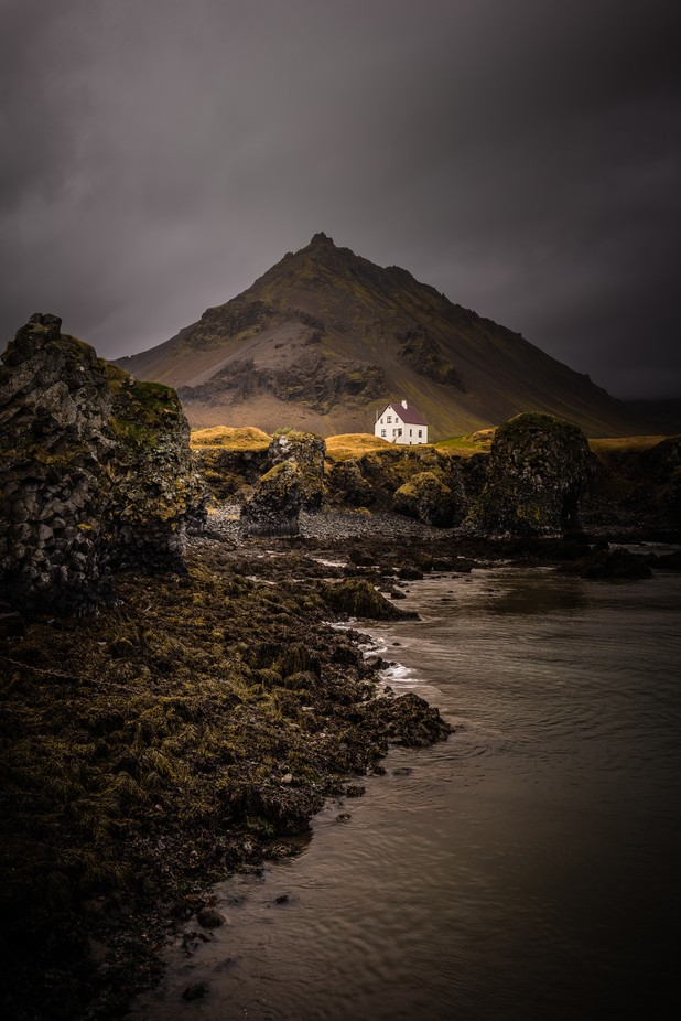 Iceland- House on the hill by CherylO - Isolated Photo Contest