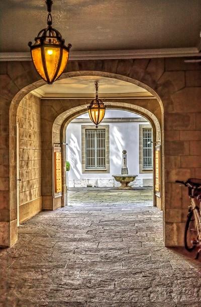 Swiss hallway