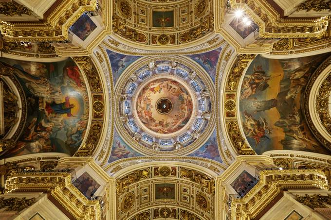 Saint Isaac's Cathedral by namero - High Ceilings Photo Contest