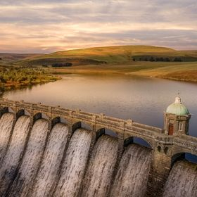 Craig Goch Dam Another shot from my drone of the Craig Goch Dam in the Elan Valley