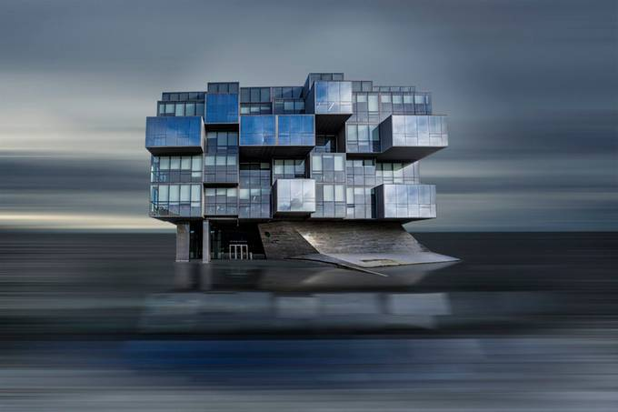 Glass Cubes by jackvainer - Modern Architecture Photo Contest