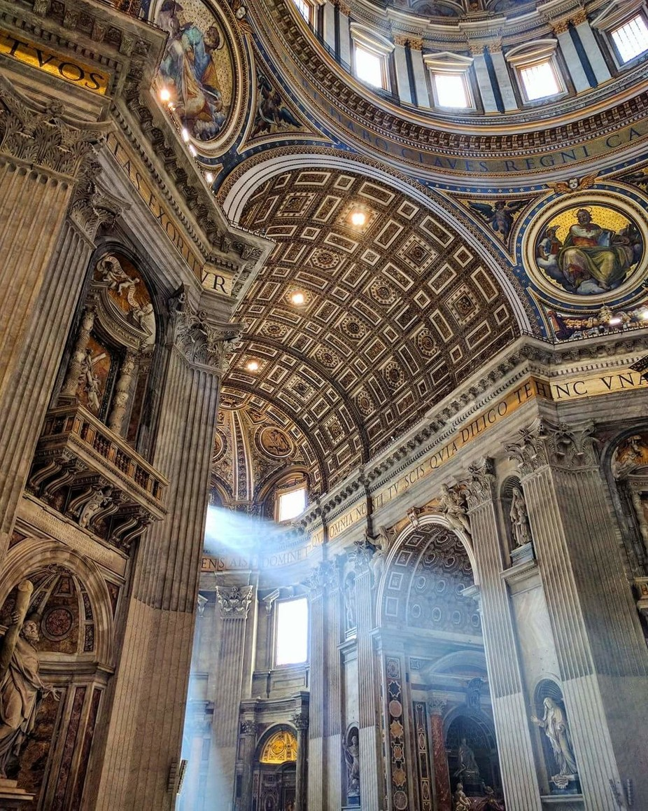 St. Peter's Basilica by Chelselizapnw - High Ceilings Photo Contest