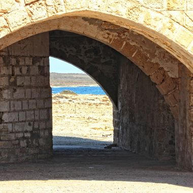 This photo was taken when me and family visited Karpasia Peninsula in the year 2013. I found this archway interesting which was just under the monastery.