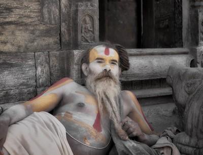 Relaxing Sadhu