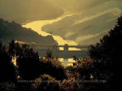 Cardal do Douro - Barragem - sunset