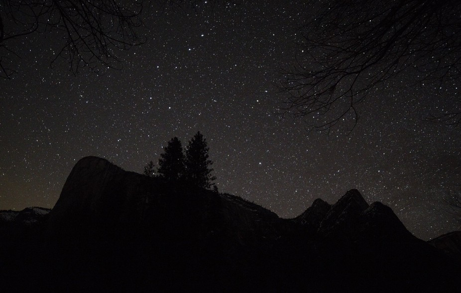 At night, in Yosemite, nothing else to say